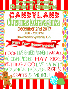 Candy Land Christmas Extravaganza @ Downtown Sylvania GA | Sylvania | Georgia | United States