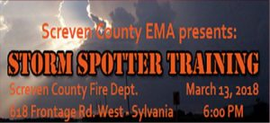 Screven Co. EMA - Storm Spotter Class